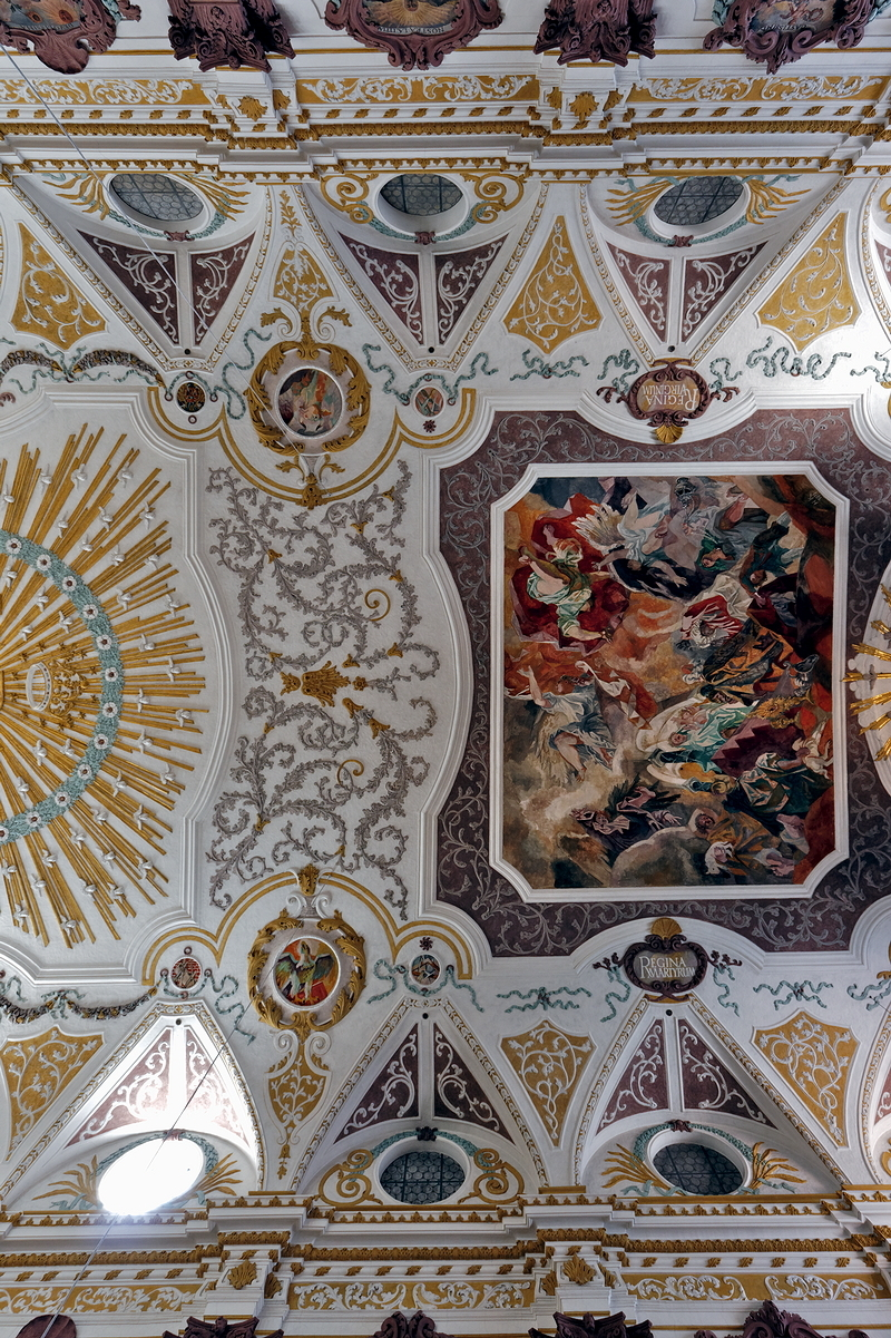 Bürgersaalkirche: Ceiling (pt. 1)