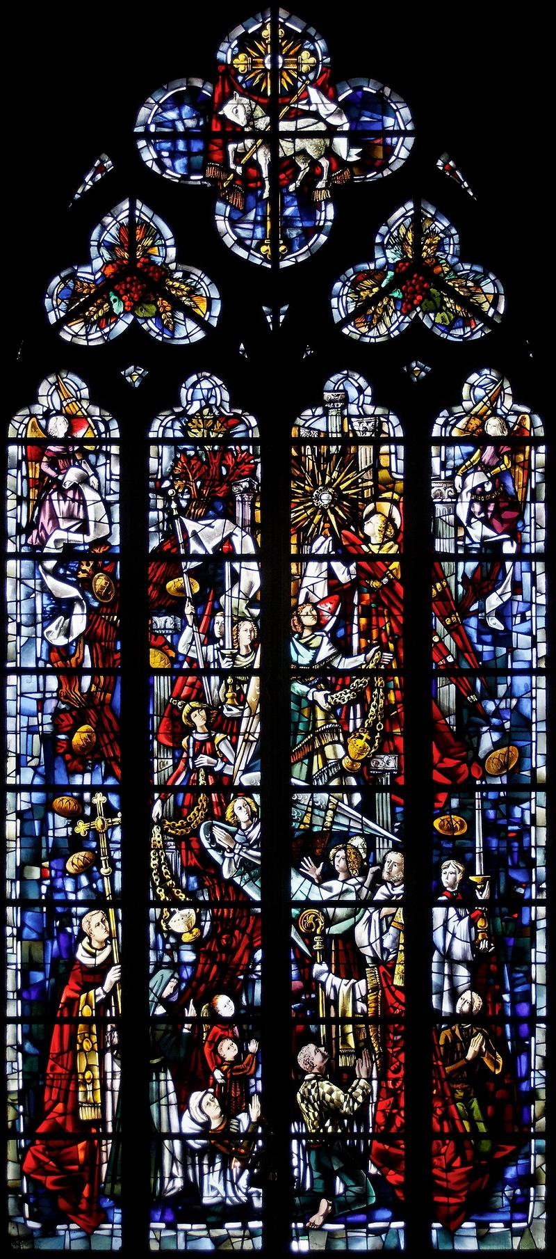St Paul, Liège: Window