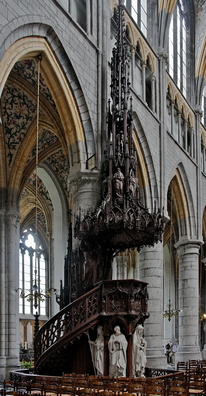 St Paul, Liège: Pulpit