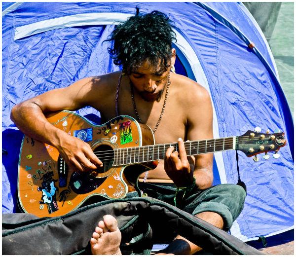 A toc de guitarra