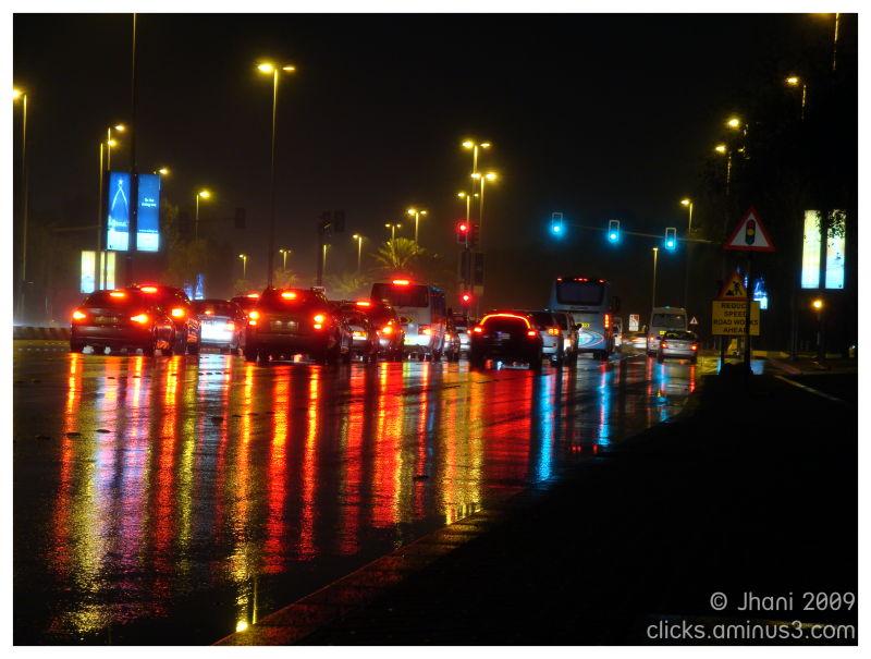 Rain in Abu Dhabi, Abu Dhabi, Rain