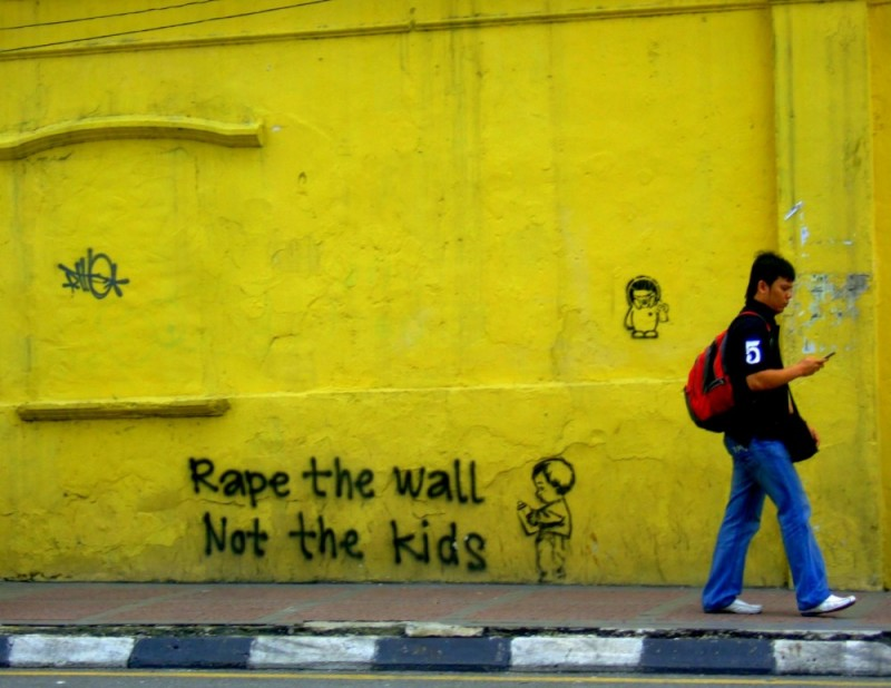 Rape The Wall, Not The Kids
