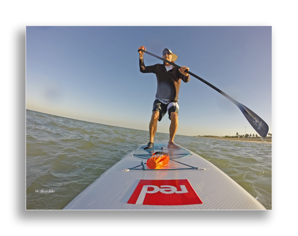 Might fall - Wet selfie on SUP 2