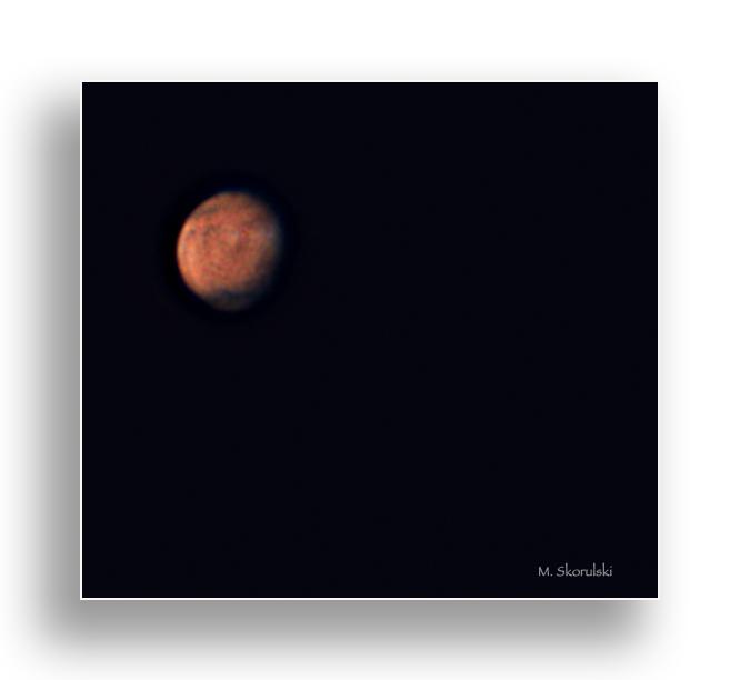 Mars from 255 million kilometers