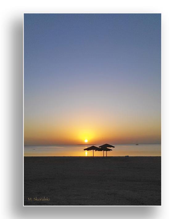 Sunrise on Jubail Beach