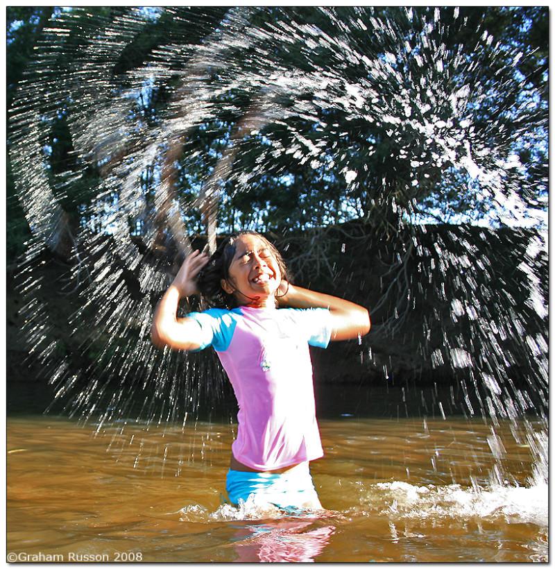 berg river hair spray