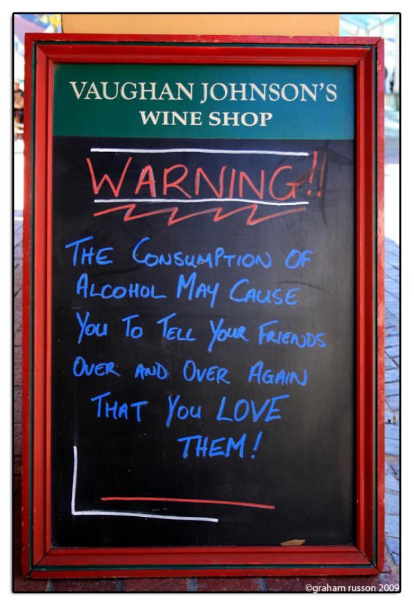 sign wine