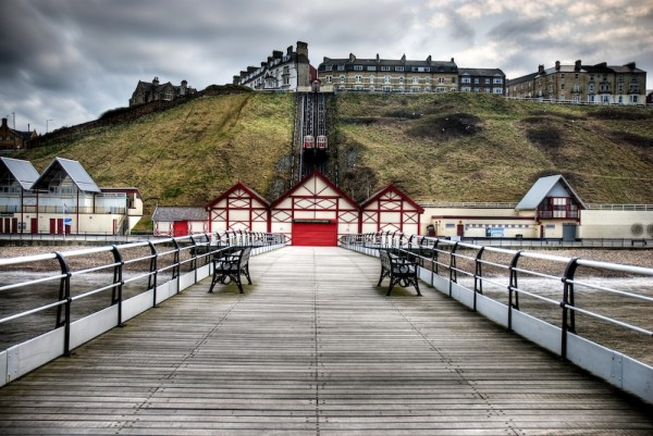 HDR image of saltburn pier