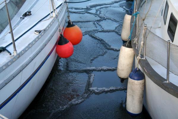 icy suface marina