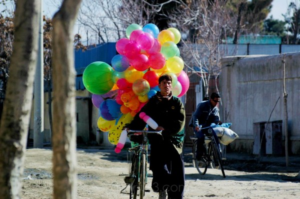 On 3rd street, Taimani, Kabul.