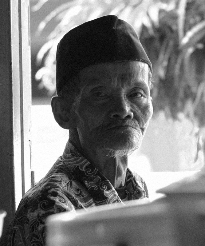 a javanese old man