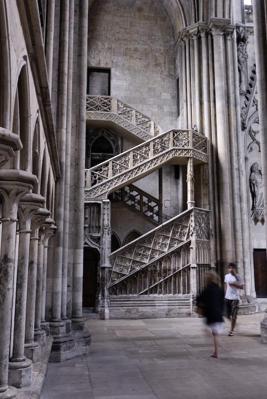 Rouen cathedrale dentelle