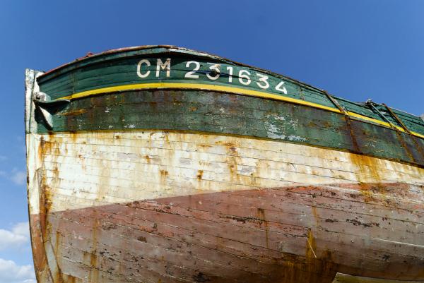 Cimetiere bateaux Camaret Finistere