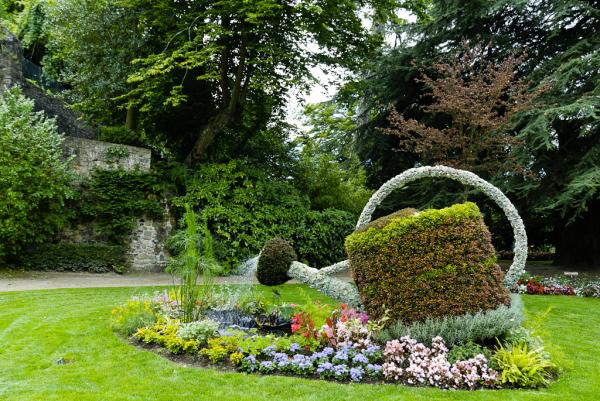 Coutances jardin Manche Plantes Nature