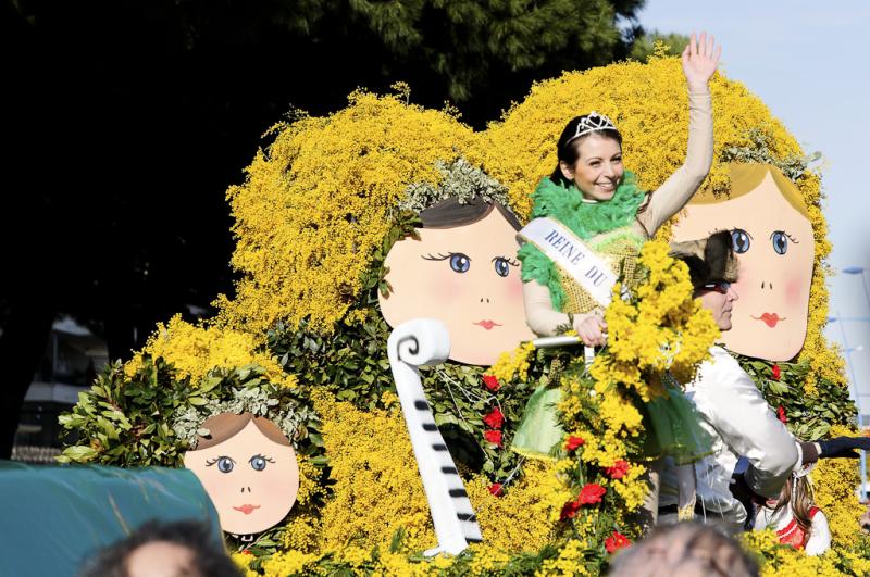 Mandelieu mimosa carnaval