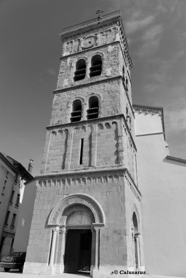 Valence Eglise N&B Drome 26