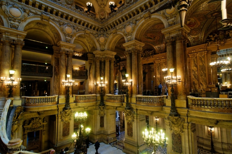 Paris Opera Architecture