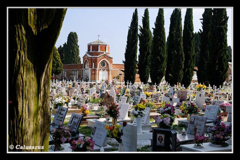 Venise cimetiere