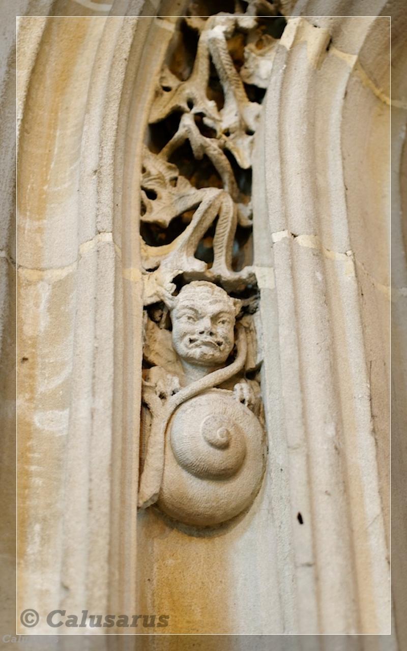Rouen architecture Gargouille