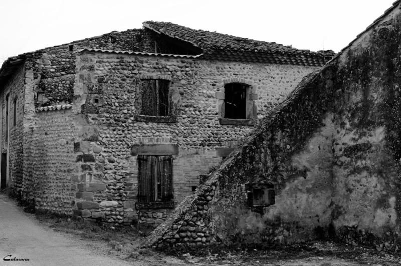 Maison Drome N&B St-Marcel-les-Valence