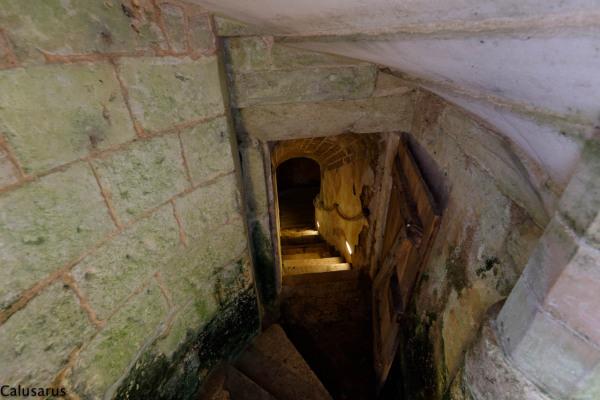Escalier lumiere Chateaudun