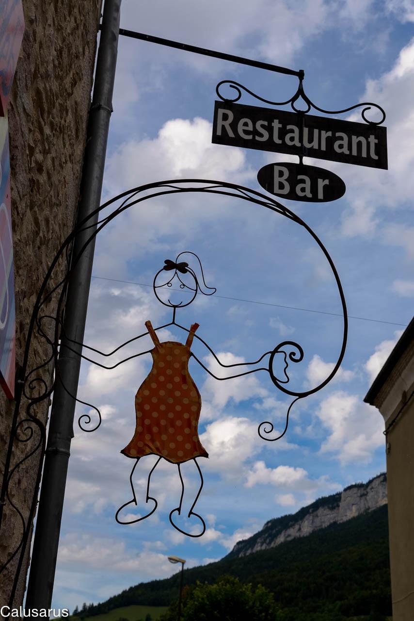 Enseigne Drome 26 saint-martin-en-vercors