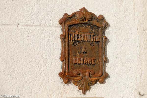 Detail panneau briare