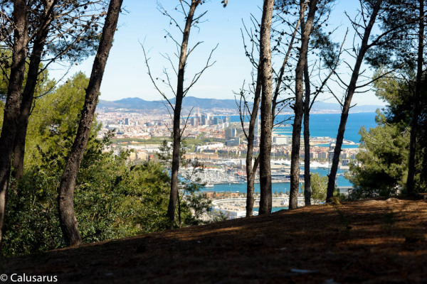 Paysage mer Barcelone
