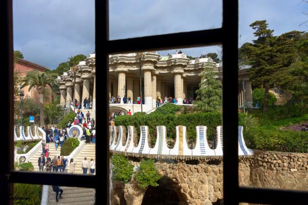 Paysage Espagne Parc Guell
