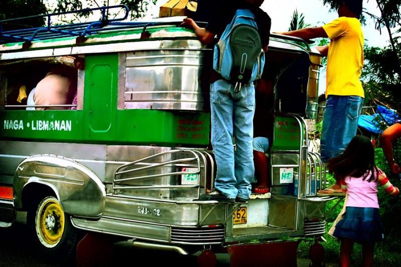 jeepney, naga - libmanan route
