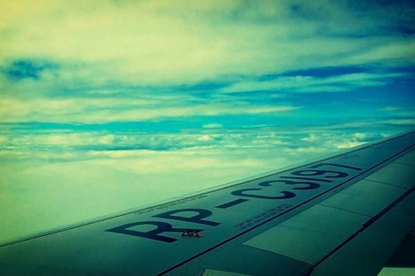 Cebu Pacific Airplane in High Altitude