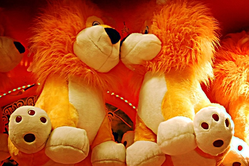 Lion Stuffed Toys at Star City