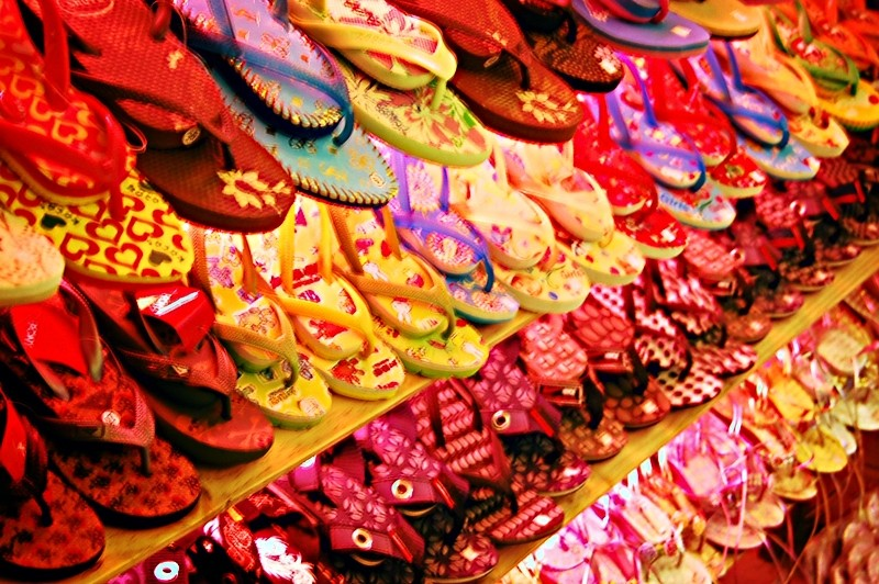 Thong Slippers for Sale at Star City