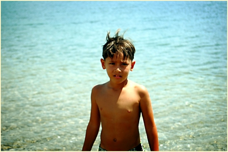 Sunset Cove Boy at Subic, Zambales