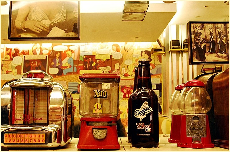 Vintage Display Objects at Butter Diner