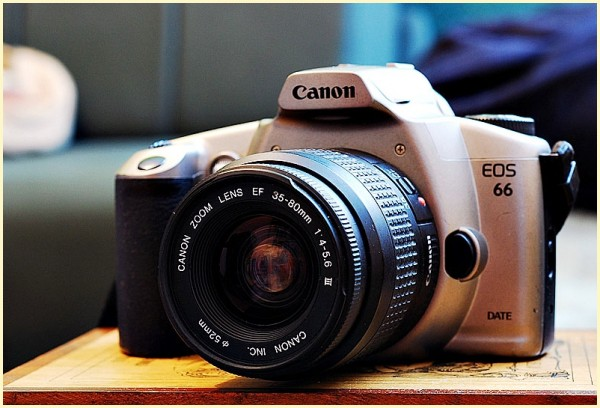 My Canon EOS 66 film SLR