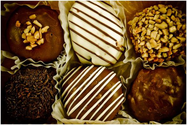 Belgian Bites from Mister Donut