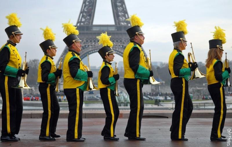 Parade américaine, Paris Trocadéro.