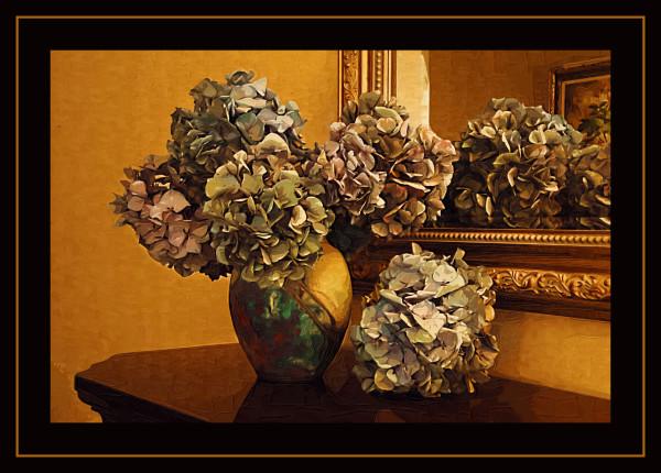 Painted Hydrangeas