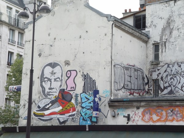 Graffiti in Paris