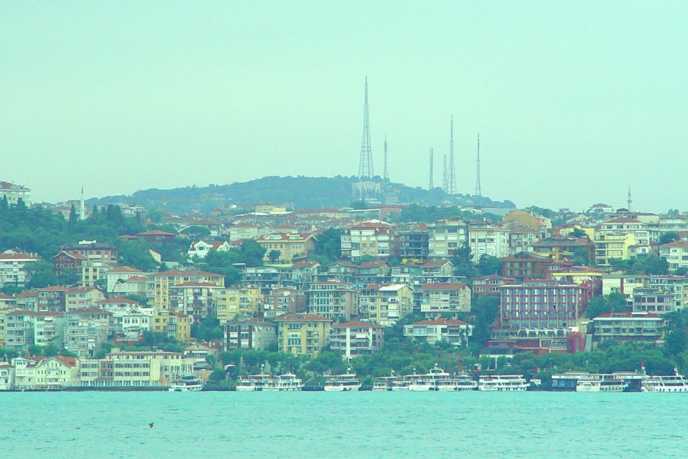 Turkey, Istanbul, Urban landscape, Harbour