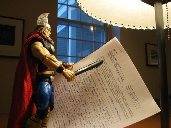 Thor and I try to get back into the workforce