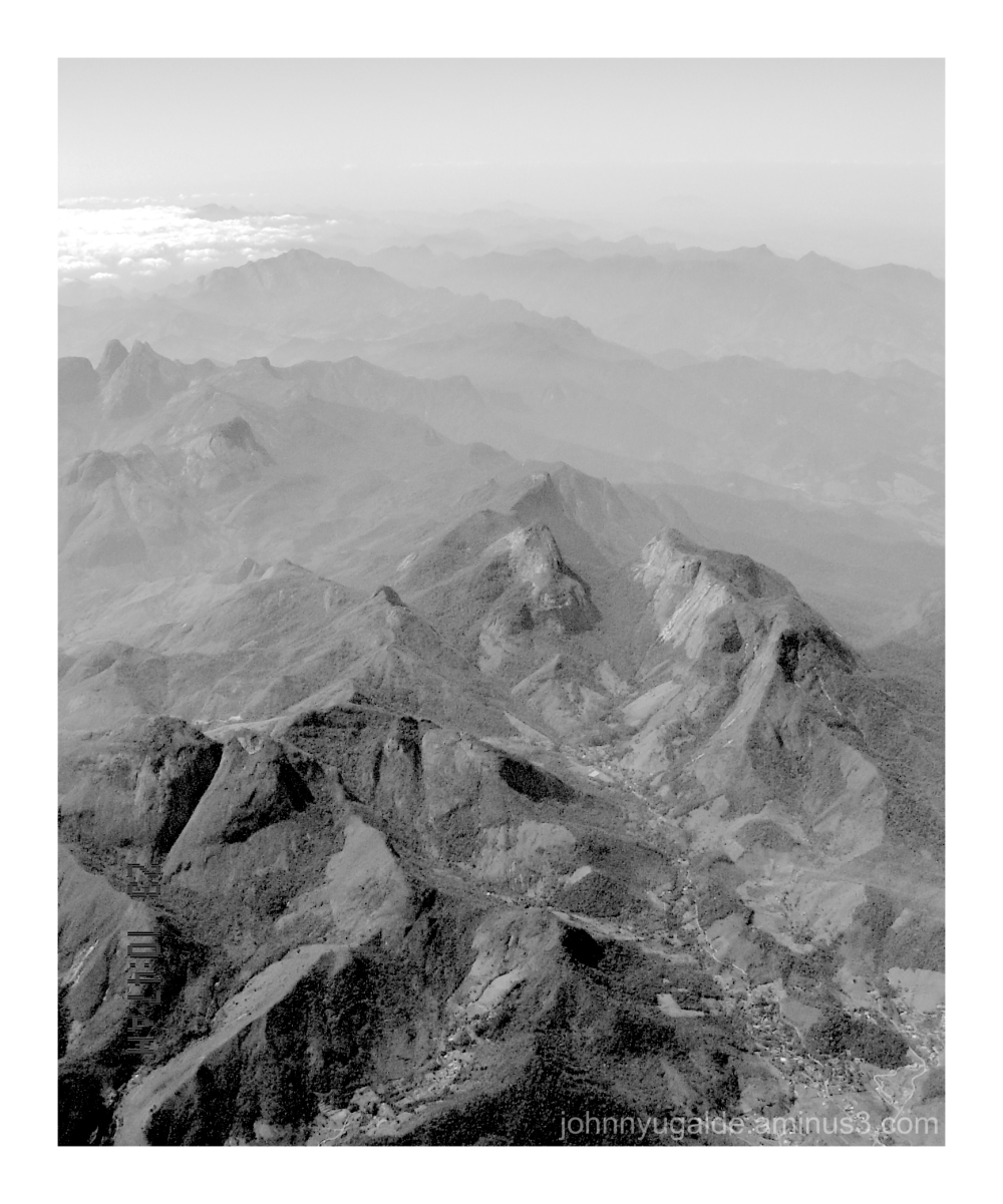 Mountains from upview
