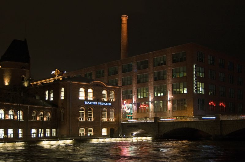 Building(s) by the Tammerkoski rapid
