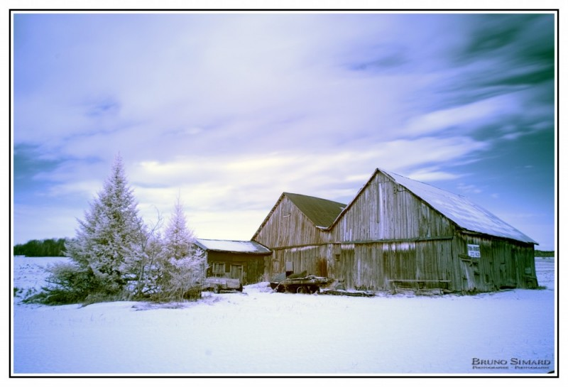 Old barn at Bromont
