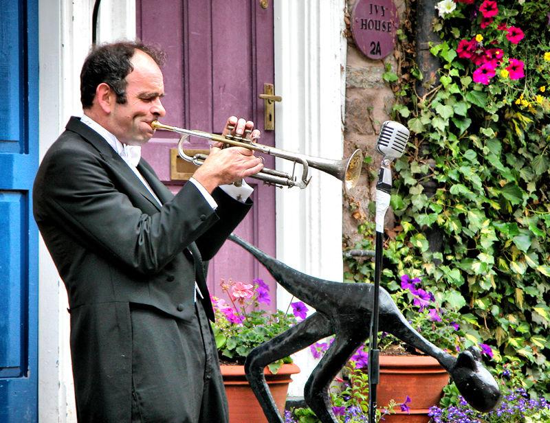 Trumpeter Ludlow Shropshire UK