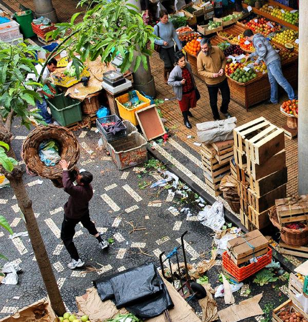 Market Funchal Madeira