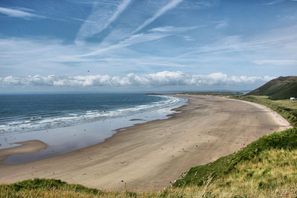 Rossili Beach Gower Wales