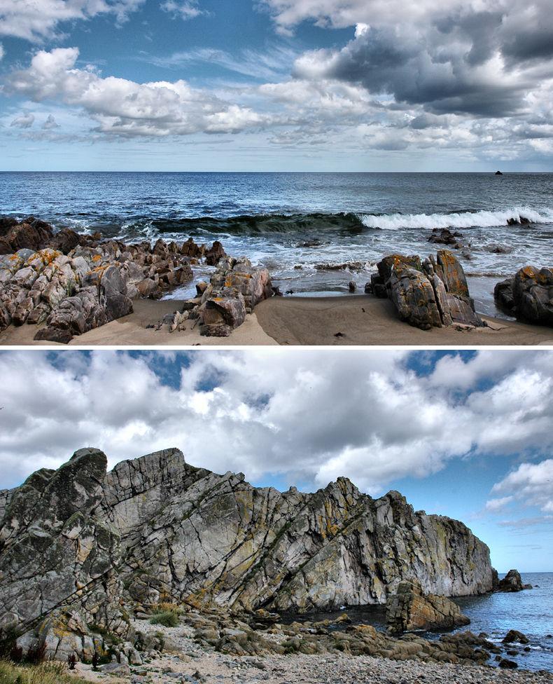 Logie Head Moray Firth Scotland