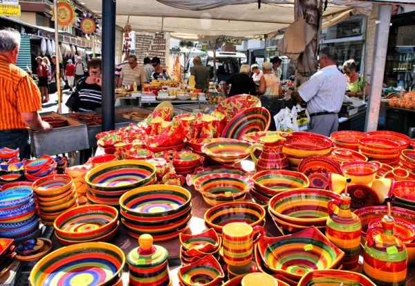 Market Torre del Mar Axarquia Andalusia Spain